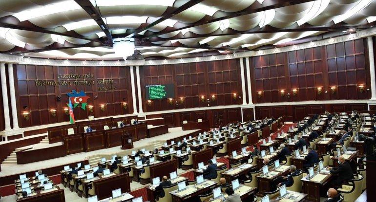 Milli Məclisin payız sessiyasının işlər planı açıqlandı