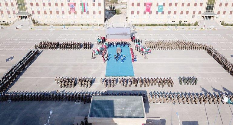 Azərbaycan, Türkiyə və Pakistanın xüsusi təyinatlılarının təlimi başa çatıb ...