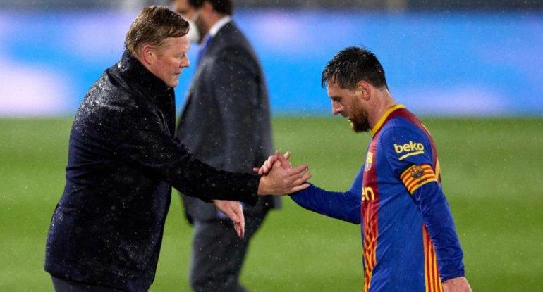 """Kumandan etiraf: """"Messi nöqsanlarımızı örtürdü"""""""