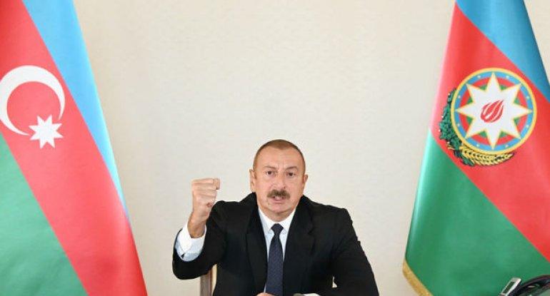 """İlham Əliyev: """"Biz 44 günlük müharibə ərzində daha bir ordu korpusu formalaşdırdıq"""""""