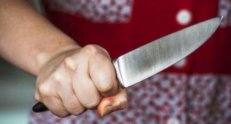 """Ərini öldürən qadın: """"Bıçağı götürüb baxmadan vurdum, uşaqlarımız ayırdı"""""""