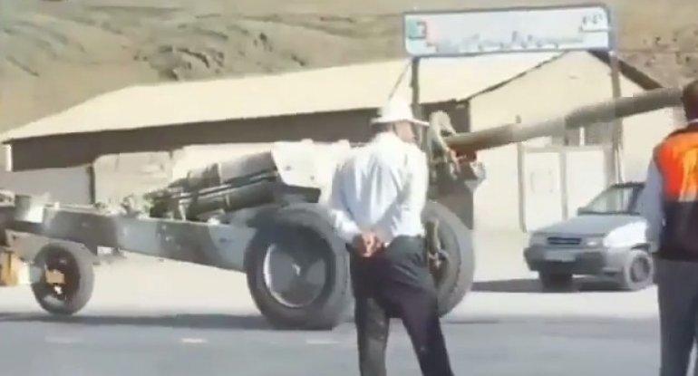 İran Azərbaycanla sərhədə zirehli texnika göndərir - VİDEO