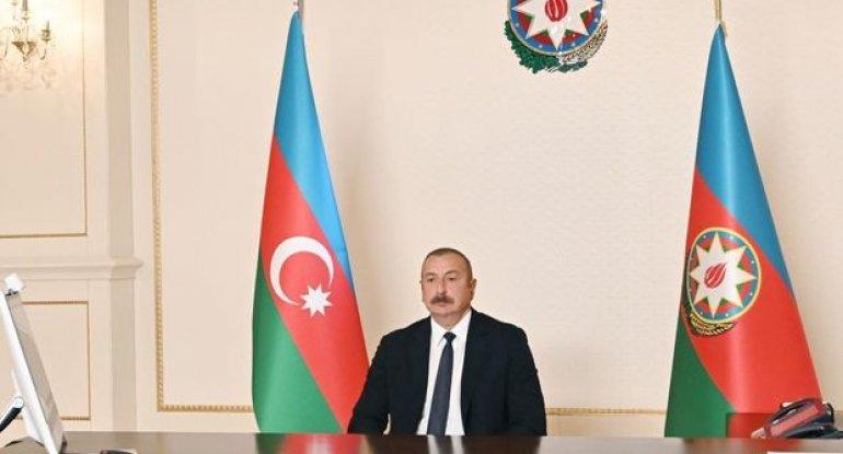 """Prezident: """"Son dövrdə Ermənistandan statusla bağlı heç bir bəyanat eşitməmişik"""""""