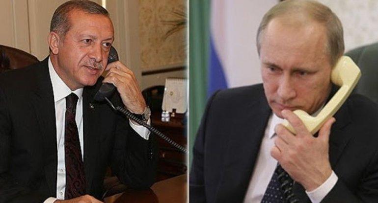 Ərdoğan Putinə zəng etdi