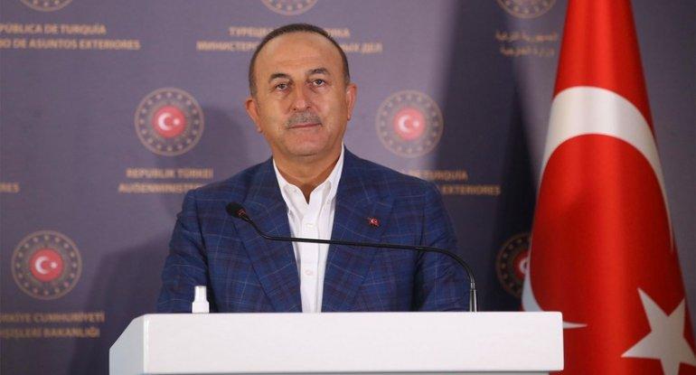 """Mövlud Çavuşoğlu: """"Ermənistanla Azərbaycan yenilikçi düşüncə və praktik diplomatiya ilə bir araya gələ bilər"""""""