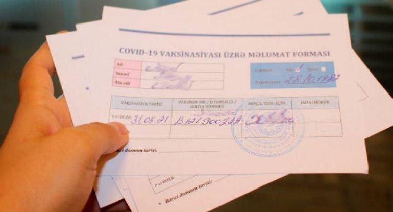 Azərbaycanda COVID-19 pasportuyla bağlı daha bir tələb qüvvəyə mindi