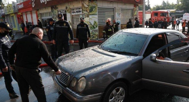 Bakının mərkəzində baş verən yanğınla bağlı DYP-dən sürücülərə ÇAĞIRIŞ