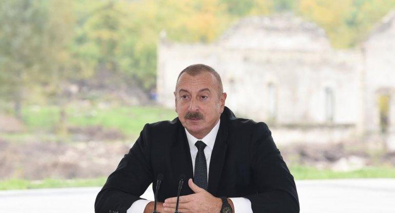 Prezident Füzuli rayon ictimaiyyətinin nümayəndələri ilə görüşüb - TAM MƏTN