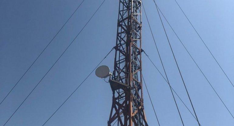 Zəngilanda televiziya və radio yayımı təmin olunub - FOTO