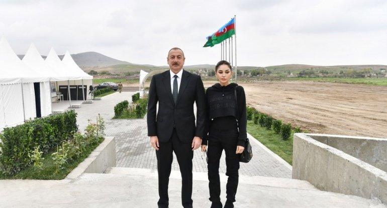 İlham Əliyev və Mehriban Əliyeva Zəngilanda olublar - YENİLƏNİB