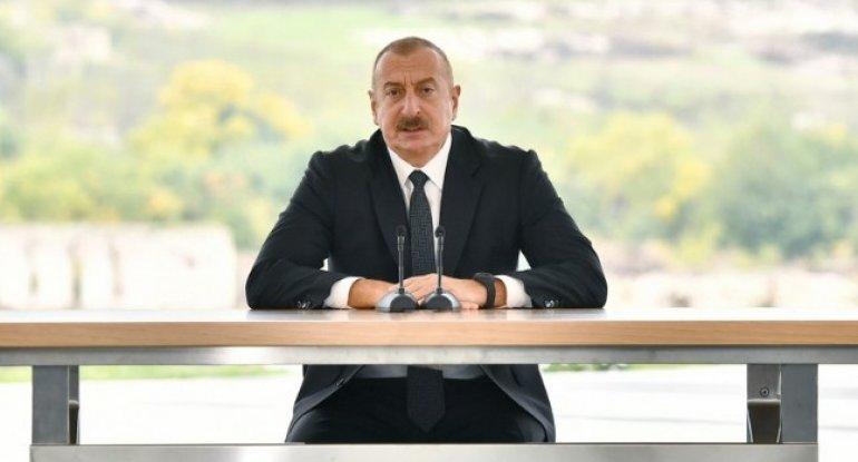 """""""İstədiyimizə nail olduq"""" - Dövlət başçısı"""