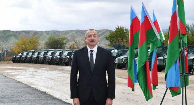 """Azərbaycan lideri: """"Zəngilandan Naxçıvana, Türkiyəyə və Avropaya yol açılacaq"""""""