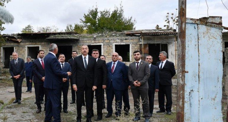 """İlham Əliyev: """"Zəngilan məscidi bərpa edilir"""""""