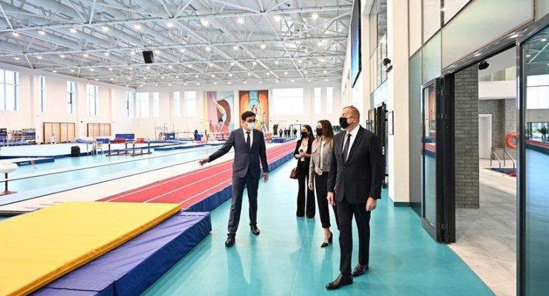 Prezident Milli Gimnastika Arenasında - YENİLƏNİB - FOTO