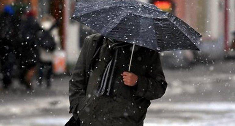 Yağış, qar, külək - SABAHIN HAVASI